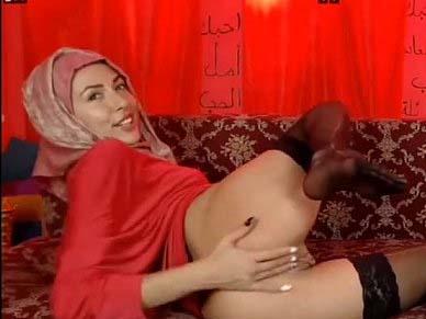 Beurette voilee en webcam nous montre son anus ZeiraMuslim – Butthole