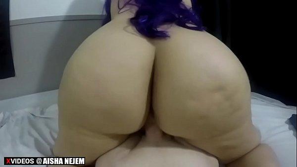 Femme Arabe BBW au gros cul baise son voisin